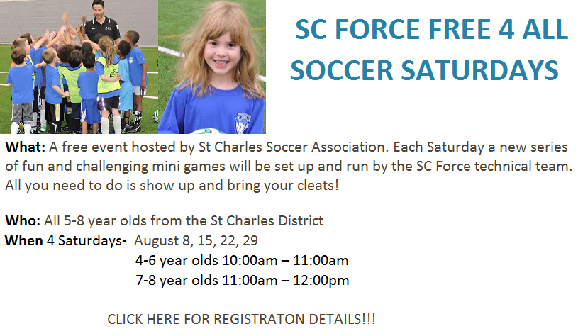 SC Force Saturday Free For All